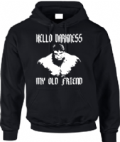 HELLO DARKNESS MY OLD FRIEND HOODIE - INSPIRED BY DAVID BANNER THE HULK